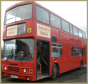 our transport for Saturday 17th May