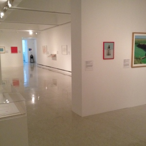 Installation shot of Ripples on the Pond, Gallery 4, GoMA