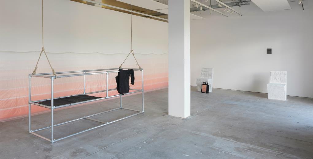 Tessa Lynch. Installation view, Glasgow Sculpture Studios. Courtesy the artist.