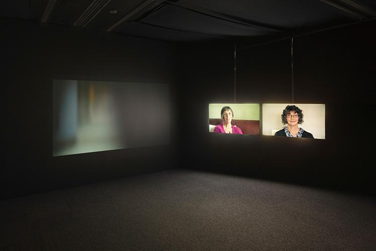 Installation shot of 'Hazel (2016), Jacqueline Donachie, photo Ruth Clark.
