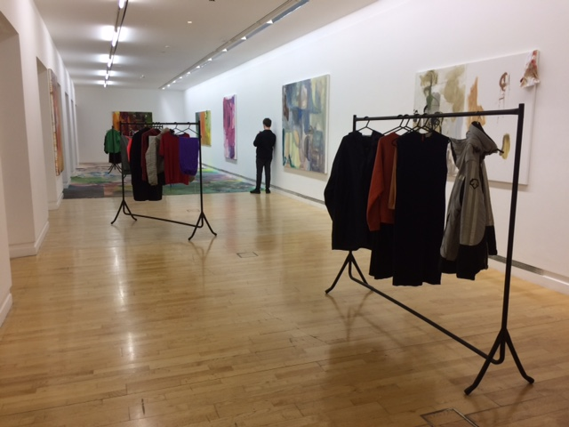 Installation shot from Poppies, a collaboration between Max Brand and Joanne Robertson