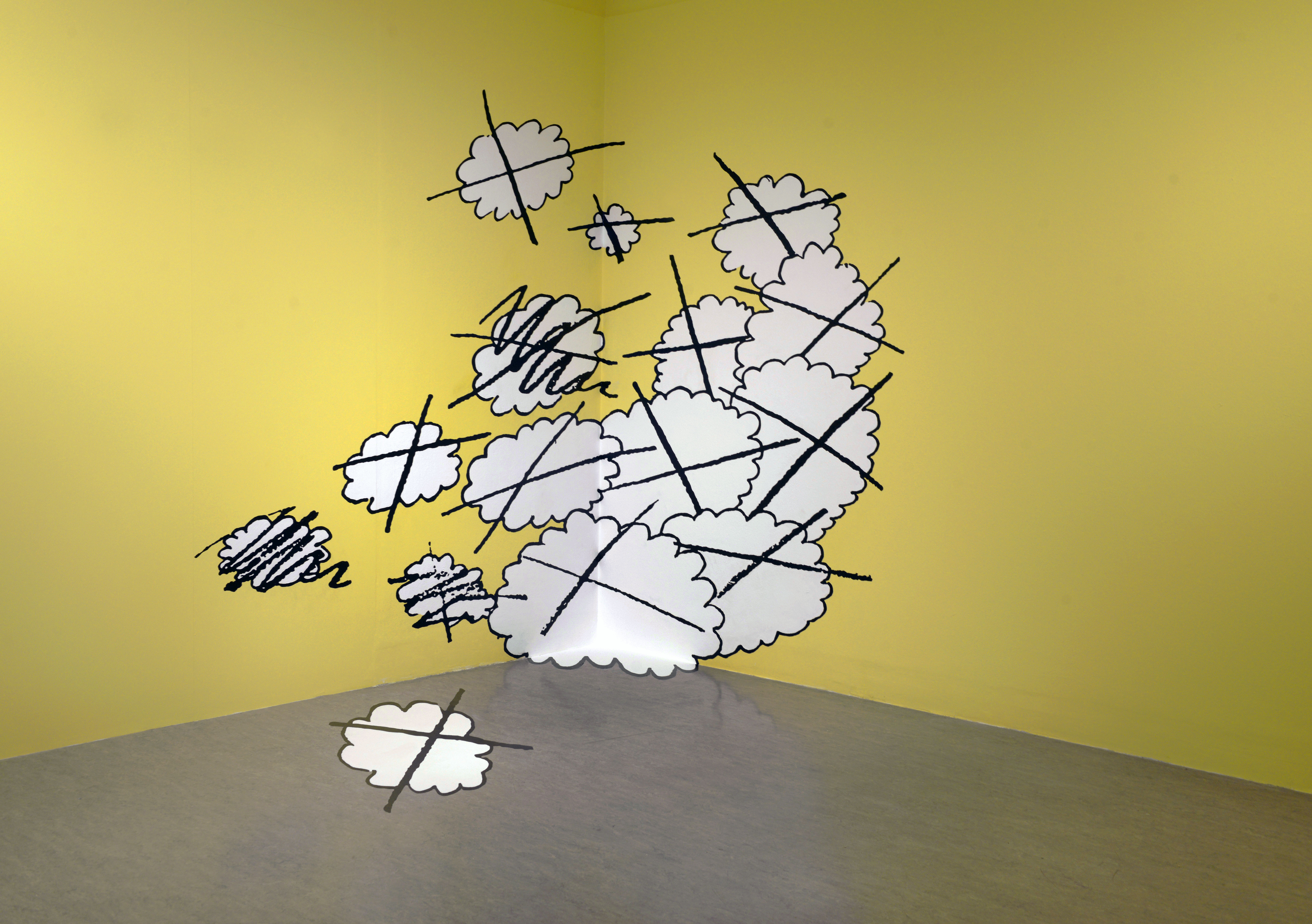 Untitled Wall Drawing (Selected Errors), 2011, Stephen Sutcliffe - photo Alan Dimmick