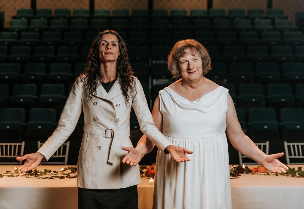 ' Renata Carvalho & Jo Clifford, in The Gospel According to Jesus, Queen of Heaven, 2019, Tiu Makkonen' digital c-print © and courtesy the artist